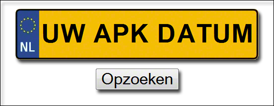 Uw APK datum